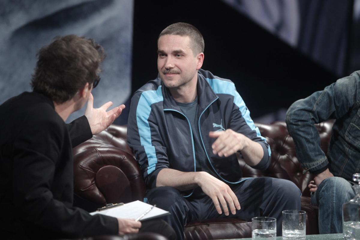 Marcin Dorociński i Kuba Wojewódzki